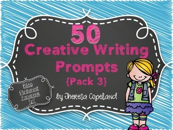 50 Creative Writing Prompts {Pack 3}