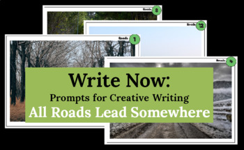 50 Creative Writing Prompts-  Printable Card Set for 4th Graders