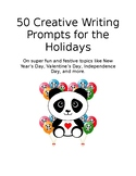 50 Creative Writing Prompts for the Holidays