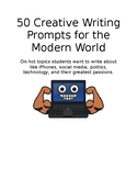 50 Creative Writing Prompts for the Modern World
