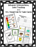 50+ Cue to Task Cards, Behavior Interventions, and Data Tr