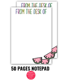 50 Cute Notepad Pages for Teachers