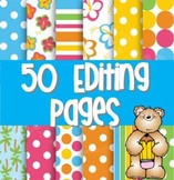 50 Daily Editing Pages