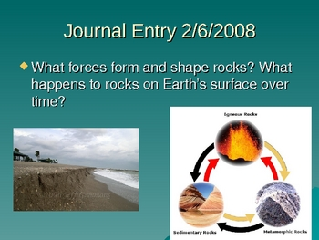 50+ Daily Journal Entries: Earth Science