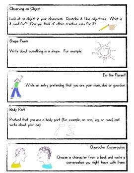 50 Days of Journal Prompts 3rd-5th Grade (Common Core Aligned)
