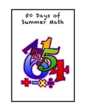50 Days of Summer Math for Rising First Graders