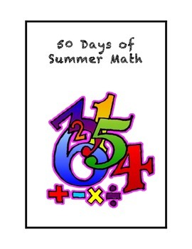 50 Days of Summer Math for Rising Fourth Graders
