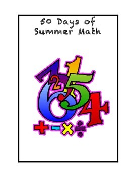 50 Days of Summer Math for Rising Third Graders