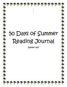 50 Days of Summer Reading Journal