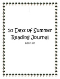 50 Days of Summer Reading Journal