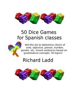 50 Dice Games SPANISH