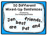 50 Different Mixed-Up Sentences