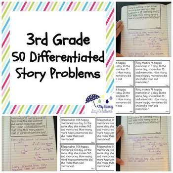 50 Differentiated Story Problems