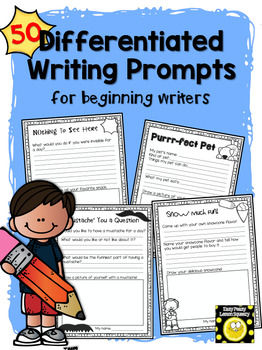 50 Differentiated Writing Prompts