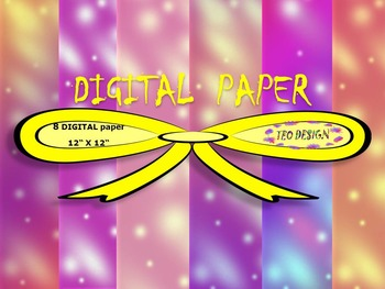 Digital papers - Holidays - Personal or Commercial Use