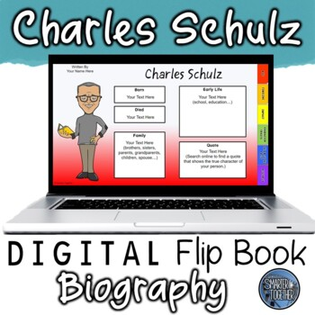Charles Schulz Digital Biography Template
