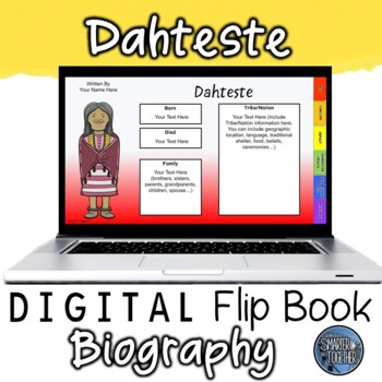 Dahteste Digital Biography Template