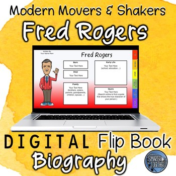 Fred Rogers Digital Biography Template By Smarter Together Tpt