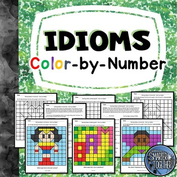 Idioms Activity Color by Number