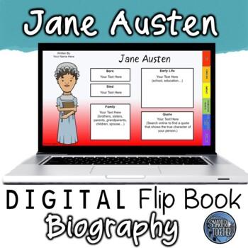 Jane Austen Digital Biography Template