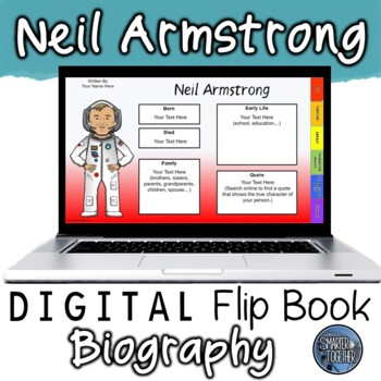 Neil Armstrong Digital Biography Template