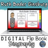 Ruth Bader Ginsburg Digital Biography Template