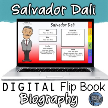 Salvador Dali Digital Biography Template