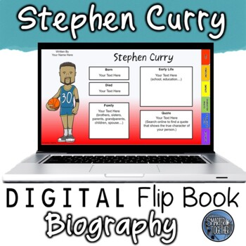 Stephen Curry Digital Biography Template