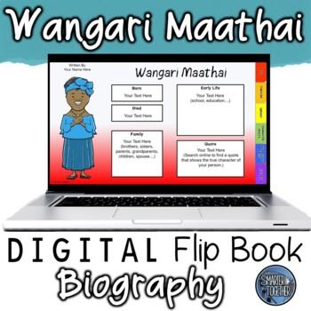 Wangari Maathai Digital Biography Template