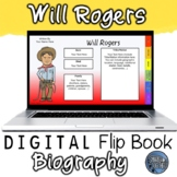Will Rogers Digital Biography Template