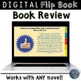 Book Review Template for Google Slides™ Digital