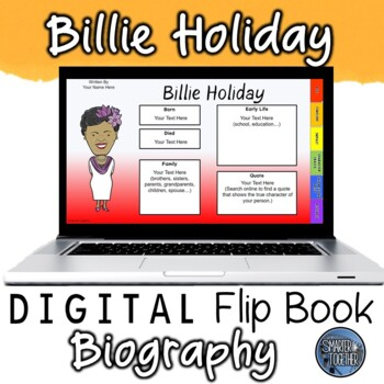 Billie Holiday Digital Biography Template
