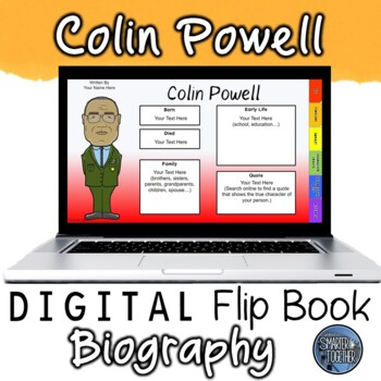 Colin Powell Digital Biography Template