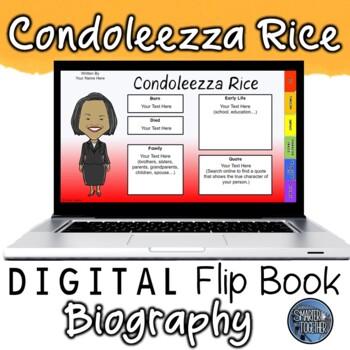 Condoleezza Rice Digital Biography Template