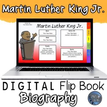 Dr. Martin Luther King Jr. Digital Biography Template