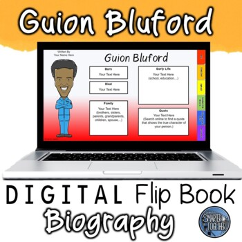 Guion Bluford Digital Biography Template