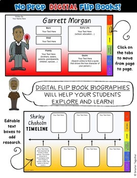 Harriet Tubman Digital Biography Template