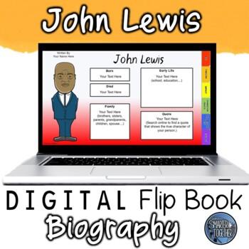 John Lewis Digital Biography Template