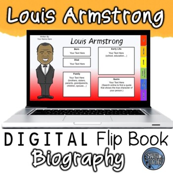 Louis Armstrong Digital Biography Template