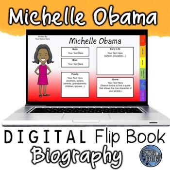 Michelle Obama Digital Biography Template