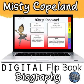 Misty Copeland Digital Biography Template