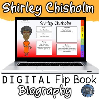 Shirley Chisholm Digital Biography Template