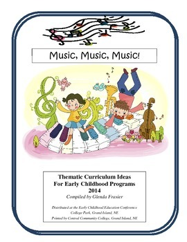 50 Early Childhood Lesson Plan Starters based on Children's Music