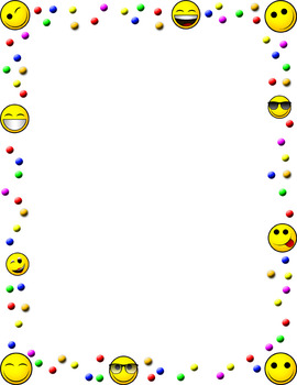 Emoji Borders {The Teacher Stop}