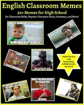 50+ English Classroom Memes for High School
