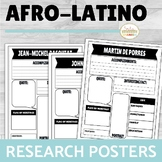 Afro-Latinos Research Poster Project ENGLISH ONLY