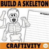 Day of the Dead Craftivity Build a Skeleton Craft and Writing Activity