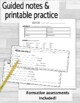 ESTAR Notes Practice and Formative Assessment