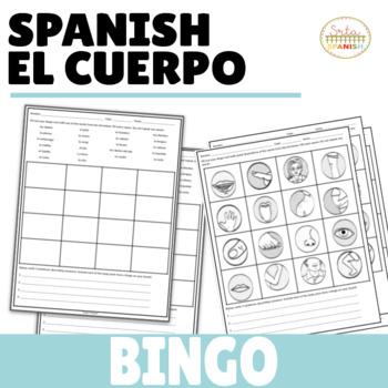 El Cuerpo BINGO Game and Variations