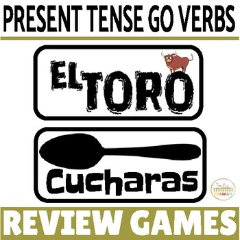 Go Verbs Review Game Pack